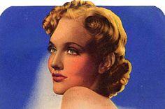 """slate-""""a crime historian explains how Elizabeth Short's makeup informed her famed post-murder persona"""""""