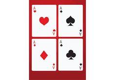 Resultado de imagen para cartas de poker para imprimir