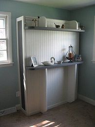 loriwallbeds - I think I like this idea even better than a Murphy bed!