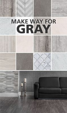 Gray is one of our favorite color trends. Here's why.Not my thing but a popular color scheme currently. To me great is the most unattractive color on the color wheel. The absence of color. Home Interior, Interior And Exterior, Interior Decorating, Interior Design, Scandinavian Interior, Home Renovation, Home Remodeling, Diy Décoration, House Colors