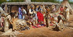 Trading At Fort Robidoux - Alfreo Rodriguez