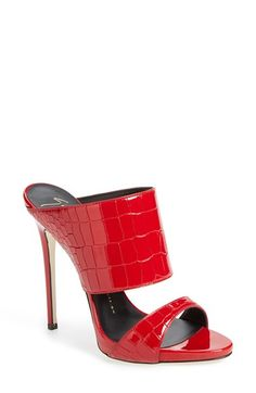 Giuseppe Zanotti 'Coline' Double Band Mule (Women) available at #Nordstrom