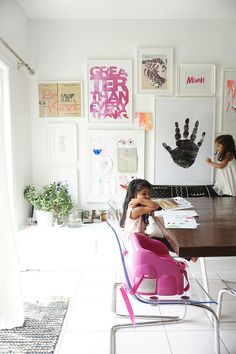 12 Ways to Display and Enjoy Artwork at Home   Design*Sponge