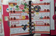 Decoración agenda Websters Pages: semana 51/2015