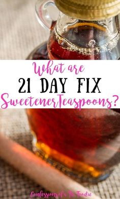 Are you unsure which healthy sweeteners are 21 Day Fix approved sweeteners? This simple guide will tell you which sweeteners you are allowed to have on the 21 Day Fix, how much to use, and where you can find them in my recipes. Other Recipes, My Recipes, Real Food Recipes, Healthy Recipes, 21 Day Fix Breakfast, Clean Eating Breakfast, Weeknight Dinners, Easy Healthy Dinners, 21 Day Fix Diet