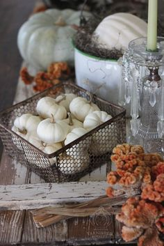 Fall Vignettes Using What You Have - Tarnished Royalty