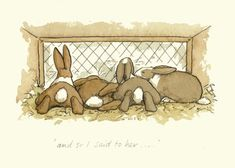 A Two Bad Mice by Anita Jeram Animal Drawings, Cute Drawings, Anita Jeram, Rabbit Art, Bunny Art, Love Illustration, Artwork, Prints, Painting