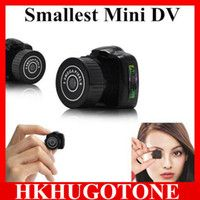mini hidden camera - Hot Sale Y2000 Mini HD Video Camera Small Mini Pocket DV DVR Camcorder Recorder Spy Hidden Web spy Cameras