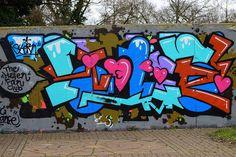 graffiti, Woodley