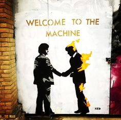 Welcome to the machine! Welcome, Street Art, London, Gallery, Instagram Posts
