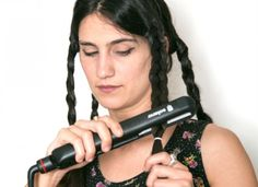 Boho Waves. The beach wave look can be a little tricky to achieve, but this trick makes it so simple.  Braid your hair in 3 to 4 braids.  Then go over the braids with a flat iron a few times.  Undo the braids and voila, beautiful boho waves!