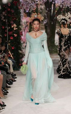 On Thursday evening last week, the super-rich and super-stylish of Japan, a clutch of Dolce & Gabbana's most dedicated customers from around the world and a small pack of fashion editors who had been flown in by the label, descended on the Tokyo National Museum to witness the unveiling of almost 100 one-of-a-kind looks in the latest Alte Artigianalità show.