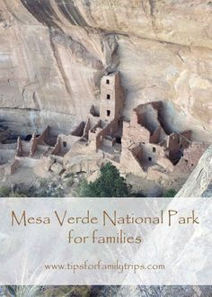 Mesa Verde National Park for Families | tipsforfamilytrips #Colorado #NationalParks