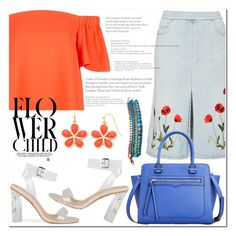 """""""flower child."""" by anja-jovanovich ❤ liked on Polyvore featuring STELLA McCARTNEY, Topshop and Liz Claiborne"""