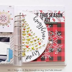 Good Cost-Free Scrapbooking Paper book Concepts Scrapping is a marvellous technique to immortalize a family people an individual like along with sei Christmas Journal, Christmas Albums, Christmas Scrapbook, Christmas Minis, Xmas, Christmas Tree, Pocket Scrapbooking, Scrapbook Paper, Scrapbook Kit