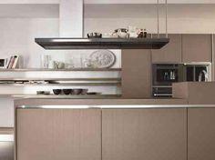cuisine moderne en beige par Aran Cucine
