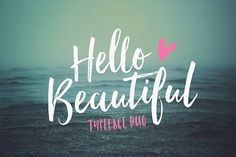Hello Beautiful Font Duo + Swashes by Nicky Laatz on @creativemarket