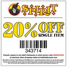 a95dea32b89a Don t miss out on spooktacular savings! Rush to your local Spirit Halloween  store