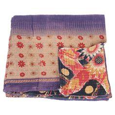 kantha sari blanket taraka_fair trade