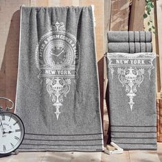 Shop for Enchante Vincente Turkish Cotton Bath Towel (Set of Get free delivery On EVERYTHING* Overstock - Your Online Bath Linens Store!