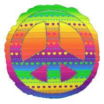 Peace Symbol 08 (ckc)-Round Throw Pillow #peace #hearts #polkadots #kidsroom #pillows #zazzle  http://www.zazzle.com/zazzlepillows?rf=238170457442240176