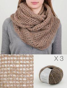 Sciarpe circolari a maglia fai da te (Foto 3/40) | Donna Nanopress