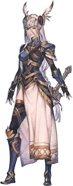 Lenneth from Final Fantasy Legends (Dimensions) II