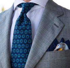 Sartorial inspirations — A subtle windowpane    #wiwt #lookbook #apparel...