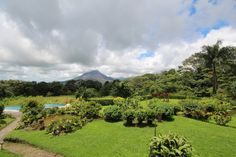 Costa Rica- Arenal Volcan  Wide angle lense