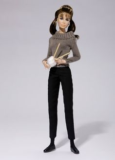breakfast at tiffany's barbie - casual holly/Audrey Hepburn Audrey Hepburn Barbie, Audrey Hepburn Style, New Dolls, Barbie Dolls, Pink Barbie, Barbie Clothes, Couture Fashion, Fashion Dolls, Barbie Convention