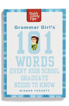 'Grammar Girl's 101 Words Every High School Graduate Needs to Know' Book available at #Nordstrom