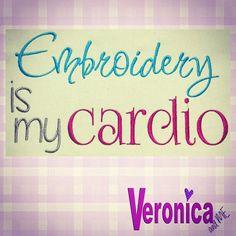 Embroidery is my cardio!! #veronicaandmedesigns #veronicaandmecustomdigitizing #nnzmo #networknz