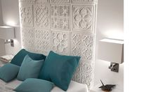 Versailles panel is one of the best decorative panels that can be used to your home and anywhere you want to create a modern and sophisticated environment. Decorative Panels, Vintage Walls, Curtains, Modern, Home Decor, Versailles, Blinds, Trendy Tree, Decoration Home