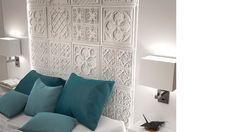 Versalles Panel - Italian White - Decorative Vintage Wall Covering Panel - 1m²/panel