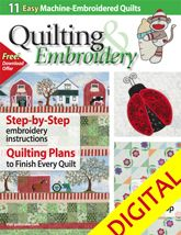 Quiltmaker's Quilting & Embroidery Spring 2011 Digital Issue