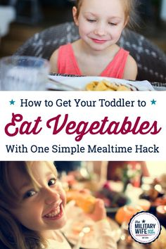 This mealtime hack is so simple, but works! If you're wondering how to get a toddler to eat vegetables, try this first before stressing over family dinners. Perfect for when your toddler won't eat. Parenting Toddlers, Parenting Hacks, Toddler Wont Eat, Toddler Vegetables, Toddler Bedtime, Toddler Snacks, Tips & Tricks, Baby Food Recipes, Toddler Recipes