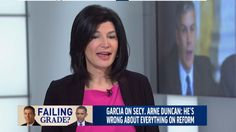 The National Education Association's Lily Eskelsen Garcia joins Morning Joe to discuss why she's fighting standardized testing and why Education Secretary Arne Duncan should resign.