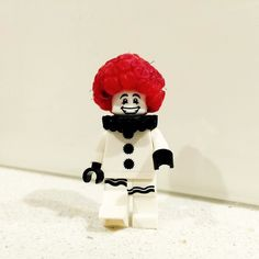 Sad clown has become happy clown with his new raspberry afro (it's the closest thing to a raspberry ) . #afro #afrohair #raspberry #happyclown #sadclown #saturdaynights #brisbane #queensland #redheads #lego #legominifigs #legominifigures #legogram #instalego #legography #legostagram #afol #minifigs #minifigures #toyphotography #legophoto #legophotography #weekends #brisbanecity #smilesallaround #clown #clowns #redtop #hahah # by lego_minifigs_australia