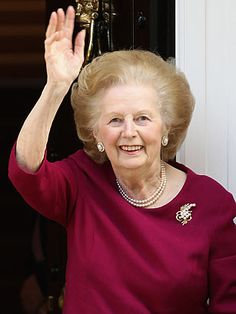 Margaret Thatcher (1925-Present) A woman with high standards and a short temper, Margaret Thatcher was not known as Britain's Iron Lady for nothing. After becoming both a chemist and a barrister and having two children, in 1959 Thatcher saw her long-held political ambitions realized when she became a Member of Parliament in the Conservative Party. Twenty years later, she found herself the Prime Minister. Serving from 1979 to 1990, she was Europe's first female Prime Minister and the only British Prime Minister to serve three consecutive terms, giving her the longest stay in office since 1827. In her 11 years at the top, she advocated for the privatization of state enterprises and industries and lower taxes, took on the trade unions and reduced social expenditures across the board. Thatcher worked, against a fair amount of resistance, to turn Britain into a more entrepreneurial, free-market economy, and is credited along with her conservative partner across the Atlantic, President Ronald Reagan, with helping hasten the demise of the Soviet Union.