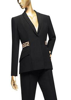 Versace - Giacca da sera con Swarovski