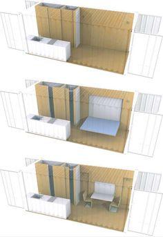 boring or brillant container plans http://dornob.com/boring-or-brilliant-simple-shipping-container-house-plans/