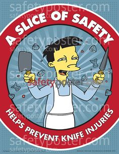 Zoro has safety signs in a wide variety of sizes, shapes, mounting styles, standards and even multiple and bilingual languages Take a look at the features for this Simpsons Safety Poster : MATERIAL: Paper, WIDTH: HEIGHT: Office Safety, Workplace Safety Tips, Running Cartoon, Cartoon Tv, Unique Poster, New Poster, Driving Memes, Safety Message, Safety Posters