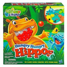 Hungry Hungry Hippos Boardgame image-0
