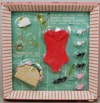 Barbie #0923 1962 MOC Barbie Doll Accessories NRFB MIB NRFC