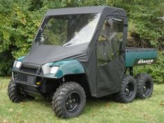 The GCL UTV 04-08 Polaris Ranger Cab Enclosure is manufactured using professional grade marine fabric.  Fits: 2004-2008 Polaris Ranger 4x4, 2x4, 6x6, & XP and 2009 Polaris Ranger 6x6  $568 On Sale - Free Shipping to Lower 48