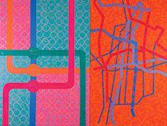 Mari Rantanen: All Systems Go Abstract Art, Finland, Artwork, Paintings, Colour, Hot, Color, Work Of Art, Auguste Rodin Artwork