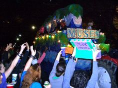 Krewe Of Muses! All I Can Say Is SHOES!!!!