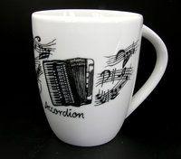 Tasse Akkordeon ♫♪ ☕ www.musiker-geschenke.com/Tassen