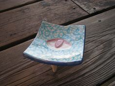 Exotic Ring Dish  Ceramics and Pottery  Small by WhiteCitrus