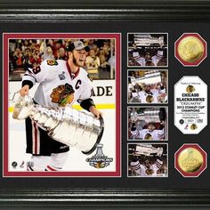Chicago Blackhawks Stanley Cup ?Triumph? Highlight Gold Coin Photo Mint